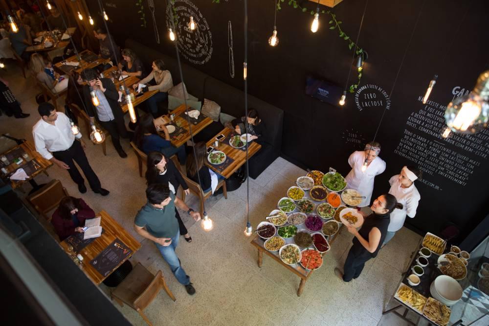 Le Manjue Organique: chef Renato Caleffi não concorda com a proposta de incluir calorias dos alimentos no cardápio (Leo Martins/Veja SP)